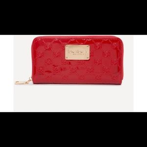 Bebe Red Alana clutch wallet BNWTs